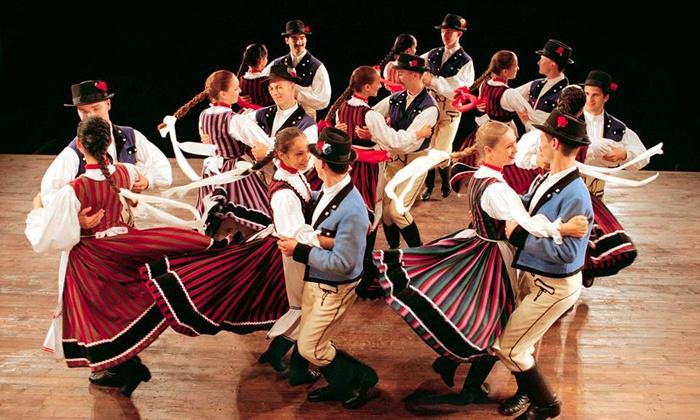 """Hungarian State Folk Ensemble"" or ""Danu-Christmas in Ireland"" - Van Wezel Performing Arts Hall: Hungarian State Folk Ensemble or Danú: A Christmas In Ireland at Van Wezel Performing Arts Hall (Up to 41% Off)"