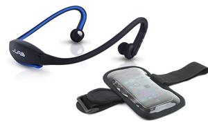 Jlab Go Wireless Bluetooth Sport Headphones With Armband