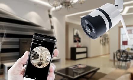 1 ou 2 caméras HD wifi dintérieur ou dextérieur, objectif  360° et avec cartes SD