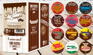 Hot Cocoa Single-serve 40ct. Sampler From Two Rivers Coffee
