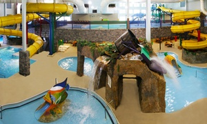 Castle Rock Resort & Waterpark: Waterpark Package for 2 or 4 at Castle Rock Resort & Waterpark (Up to 50% Off) with 15% off a future night stay