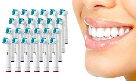 24 ou 48 têtes de brosse à dents de rechange, compatibles Oral-B