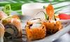 Kabuki Japanese Steakhouse & Sushi Bar - Cary: Sushi at Kabuki Japanese Steakhouse & Sushi Bar (Up to 51% Off). Two Options Available.