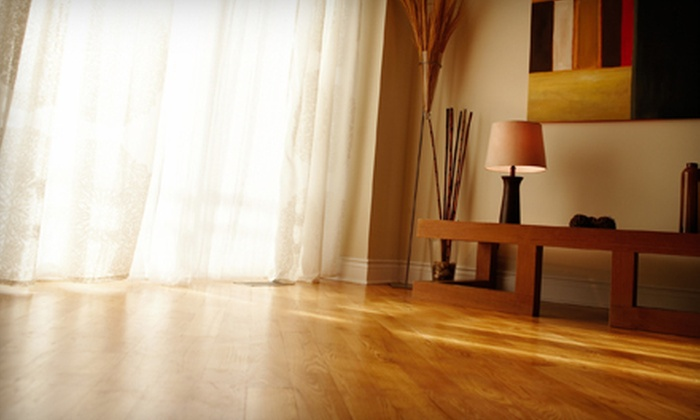 American Floor Care - Kansas City: 250 or 500 Square Feet of Hardwood Floor Cleaning from American Floor Care (Up to 60% Off)