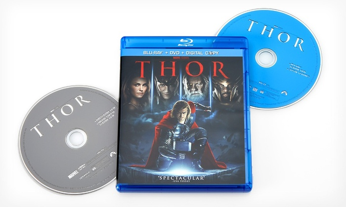 Thor Blu-ray and DVD Set: Thor Two-Disc Blu-ray and DVD Set
