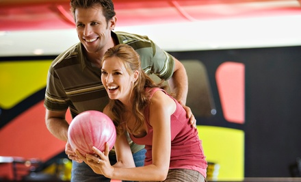 $15 for One Hour of Bowling for Four with Shoes and One Large Pizza ($30 Value)