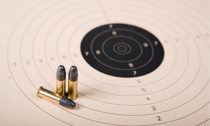 Discount Guns and Ammo - East Bay: Shooting-Range Outing for Two or Five One-Hour Lane Rentals at Discount Guns and Ammo (Up to 48% Off)
