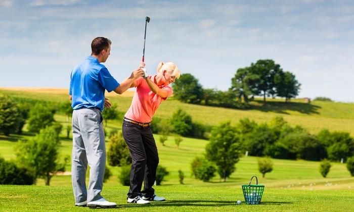 Daily Golf de Saint-Ouen L'aumône - Golf de Saint Ouen l'Aumône (SOA): 5 leçons d'apprentissage ou de perfectionnement au golf pour 1 ou 2 personnes dès 45 € au Daily Golf