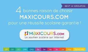 maxicours: Offre spéciale préparation du brevet ou du bac à 49 € avec Maxicours.com (45% de réduction)