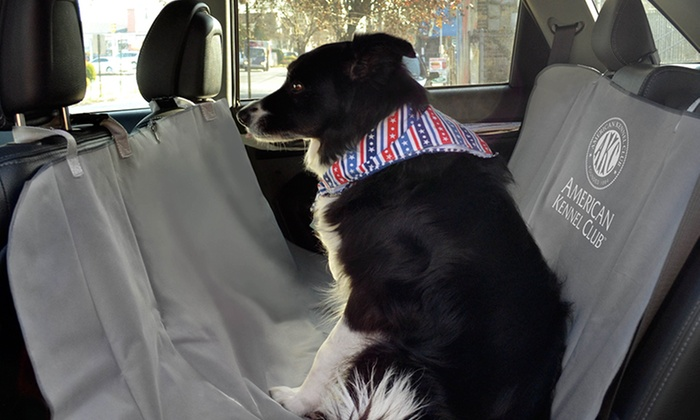 akc car seat covers for pets groupon goods. Black Bedroom Furniture Sets. Home Design Ideas