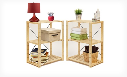 Sets of 2 Furinno Shelving Units. Multiple Styles from $39.99–$59.99. Free Returns.