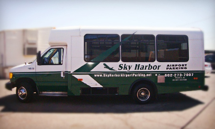 Sky Harbor Airport Parking - Sky Harbor Airport Parking: $15 for Three Days of Parking from Sky Harbor Airport Parking ($27 Value)
