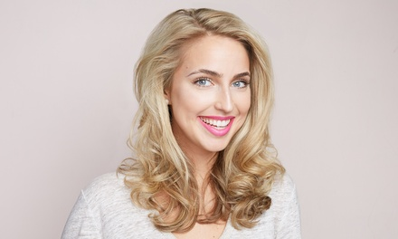 Shampoo, Style, and Blowout with Haircut or Partial or Full Highlights at Salon Burget (Up to 57% Off)