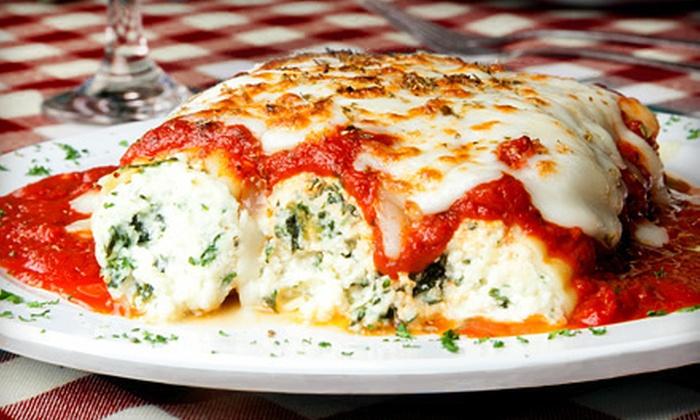 Piccolo Mondo Italian Restaurant - North Arlington: $25 for $50 Worth of Italian Fare at Piccolo Mondo Italian Restaurant