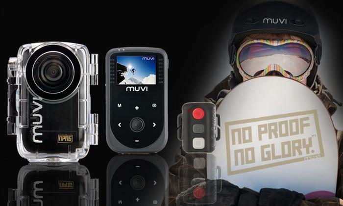 Veho Muvi HD Action Sports Camcorder Bundle: $159 for a Veho Muvi HD Action Sports Camcorder Bundle ($279.95 List Price). Free Returns.