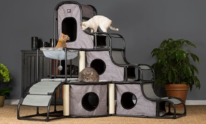 Prevue Pet Products Catville Bed, Play, and Sleep Furniture