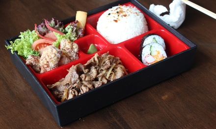 $12 for Bento Box Lunch with Miso Soup + Soft Drink or Green Tea at Tokyo-Ya Japanese Restaurant (Up to $17.80 Value)