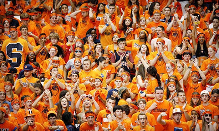 Syracuse University Orange Football - Multiple Locations: Syracuse Orange Football Game for One or Two at Carrier Dome on Friday, October 19, at 8 p.m. (Up to 58% Off)