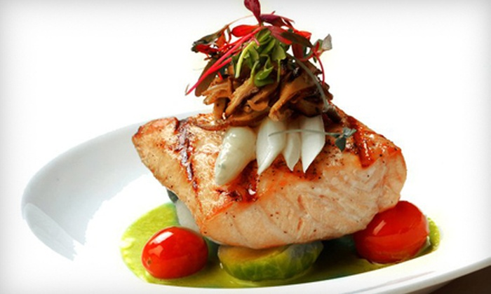 DUO Restaurant and Lounge - Midtown South Central: Prix Fixe, Three-Course, American Dinner with Wine for Two or Four at DUO Restaurant & Lounge (Up to 64% Off)