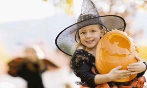 Green Meadows Farm: Trail of Jack-O'-Lanterns and Haunted House for Two, Four, or Six at Green Meadows Farm (Up to 48% Off)