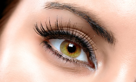 Full Set of Eyelash Extensions with Optional Refill at Allison Weaver at Salon On The Avenue (Up to 71% Off)