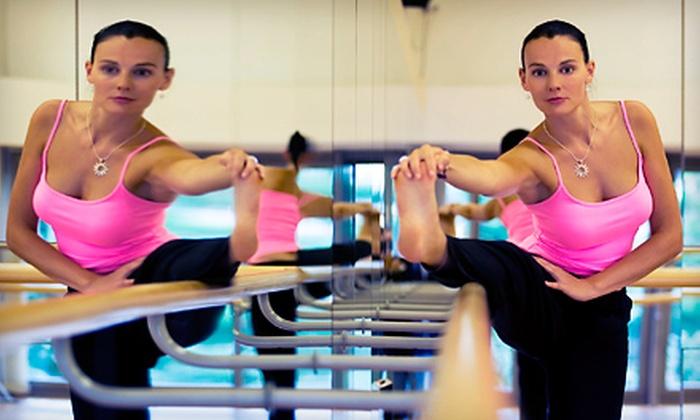 Yoga Lounge - Historic Hudson: 5 Barre or Yoga Classes or 10 Barre Classes at Yoga Lounge (Up to 56% Off)