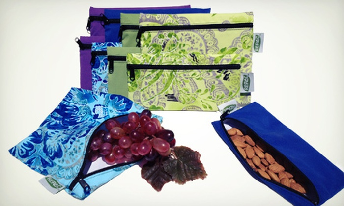 Re-Pac Bags: Eco-Friendly, Reusable Food Bags from Re-Pac Bags (Up to US$50 Value). Two Options Available.