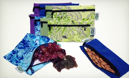 Eco-Friendly, Reusable Food Bags from Re-Pac Bags (Up to US$50 Value). Two Options Available.