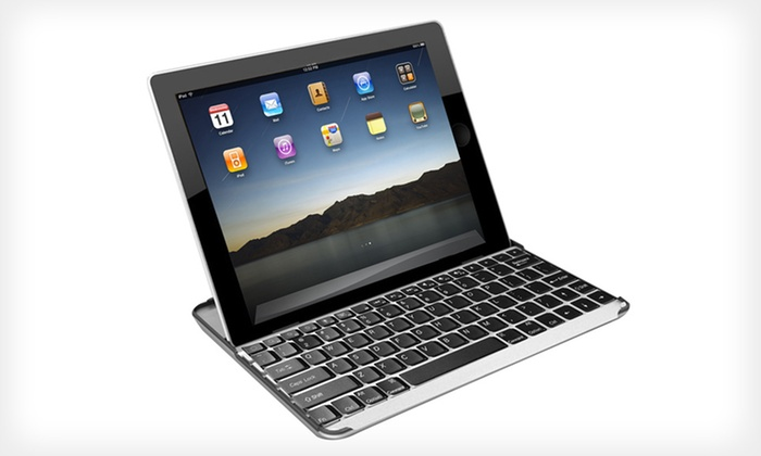 Hype Bluetooth Keyboard Stand for iPad: $19 for a Hype Aluminum Bluetooth Keyboard Stand and Case for iPad 2 and 3 ($49.99 List Price). Five Colors Available.