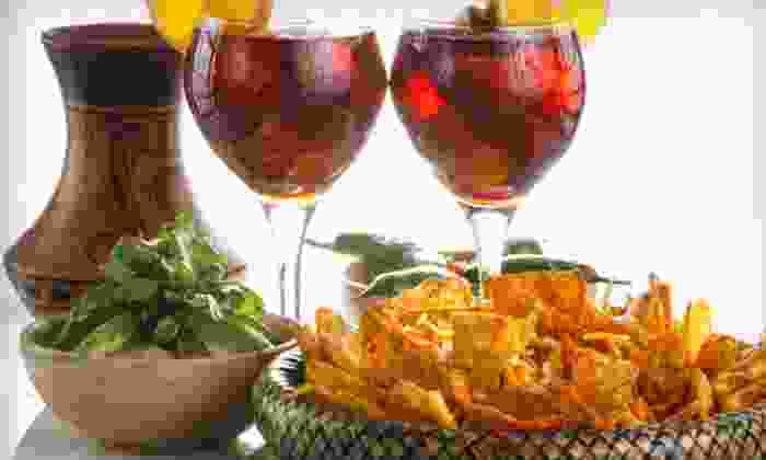 Mosaic Restaurants - Multiple Locations: $15 for Carafe of Red Sangria and Two Bar Bites at Mosaic Restaurants (Up to $30 Value)
