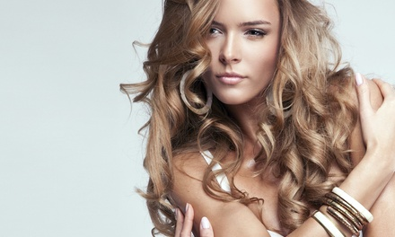 Haircut with Color at For Your Eyes Only Creative Hair Salon and Spa (47% Off)