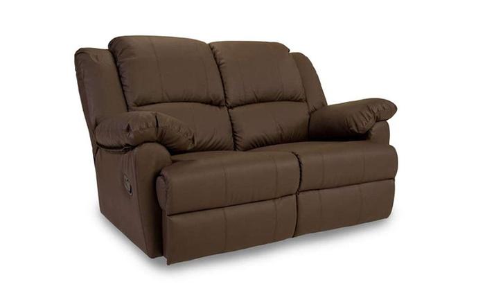 Reclining Sofa Set Groupon Goods