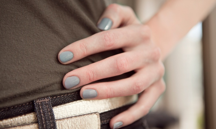 Above & Beyond Medi, Wellness, and Beauty Spa - Above & Beyond Medi, Wellness and Beauty Spa: Two Gel or Shellac Manicures or Two Regular Mani-Pedis at Above & Beyond Medi, Wellness, and Beauty Spa (Up to 55% Off)