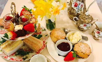 image for Traditional or Sparkling Afternoon Tea for Two or Four at Rowley Manor Hotel (Up to 23% Off)