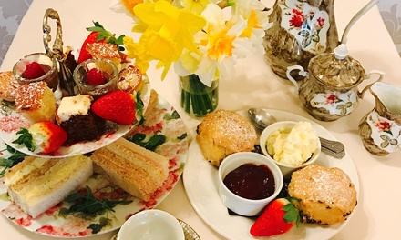 Traditional or Sparkling Afternoon Tea for Two or Four at Rowley Manor Hotel (Up to 23% Off)