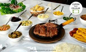 Costela Brasileira: Costela Brasileira – Guarulhos: rodízio completo e sobremesa para 1, 2 ou 4 pessoas