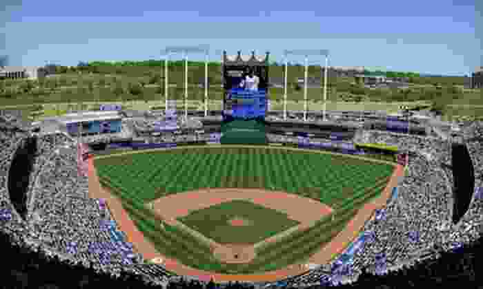 Kansas City Royals - Kauffman Stadium: Kansas City Royals Game and Cap at Kauffman Stadium (Up to 67% Off). Six Games and Two Seating Options Available.
