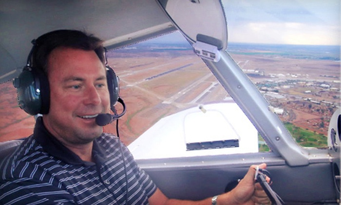 Flying High LLC - Mesa: $89 for an Introductory Flight Lesson at Flying High LLC in Mesa ($182.50 Value)