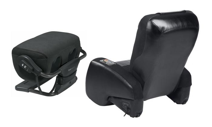 Peachy Ijoy Massage Chair And Ottoman Groupon Goods Evergreenethics Interior Chair Design Evergreenethicsorg