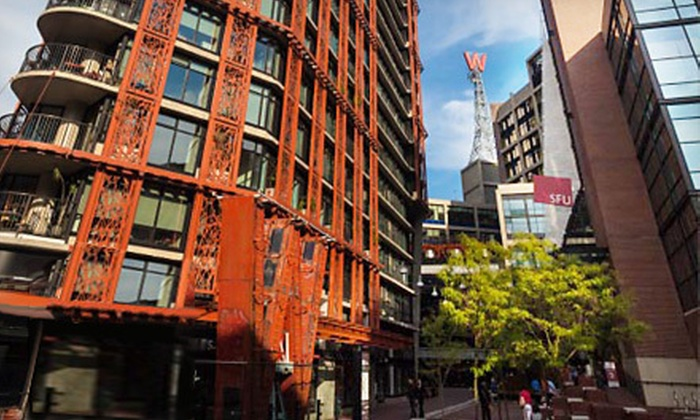 Architectural Institute of British Columbia - Downtown Vancouver: Architectural Walking Tour for Two or Four from Architectural Institute of British Columbia (Up to 55% Off)