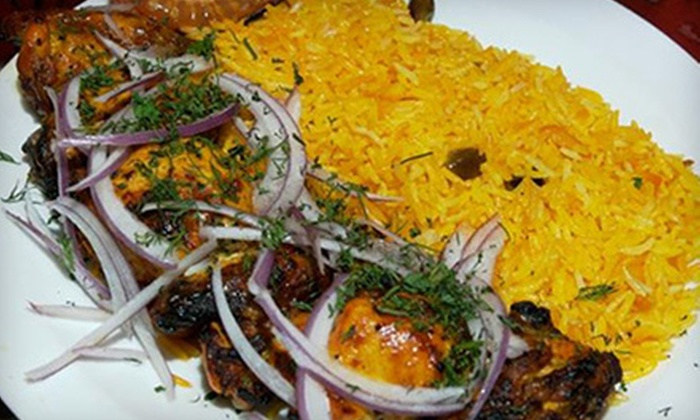Khyber Pass - East Village: Two-Course Afghani Dinner with Drinks for Two or Four at Khyber Pass (Up to 56% Off)