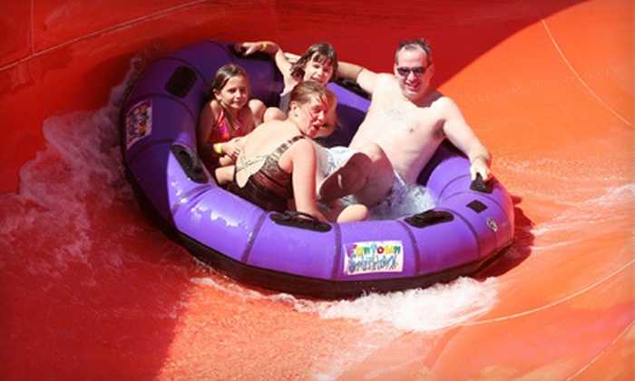 Funtown Splashtown USA - Funtown Splashtown USA: Water-Park Admission for Two or Four at Funtown Splashtown USA in Saco (Up to 55% Off)