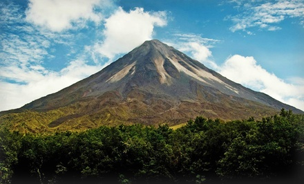 Groupon Deal: 7-Day Costa Rica Tour for Two from Ecoterra. $599.50 Per Person, See Fine Print for Child/Adult Pricing.
