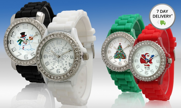 Women's Holiday Watch: Women's Holiday Watch. Multiple Designs Available. Free Returns.