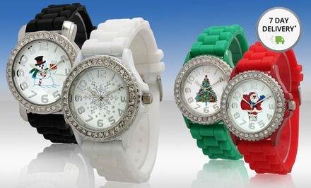 Women's Holiday Watch. Multiple Designs Available. Free Returns.