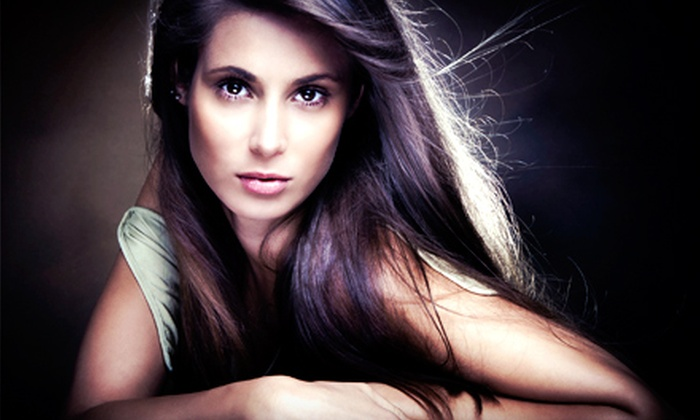 Curt Gilbert - Oakdale: Haircut Package or Keratin Treatment from Curt Gilbert (Up to 60% Off). Four Options Available.