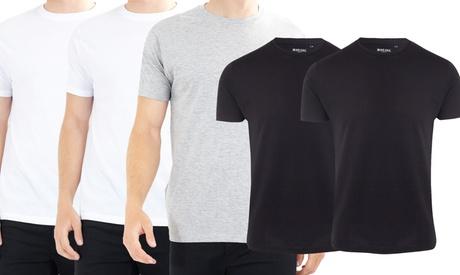 Pack de 5 camisetas de manga corta Brave Soul