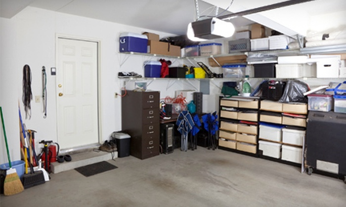 weCleanGarages.com - Charleston: Organizing and Cleaning for a One-, Two-, or Three-Car Garage from weCleanGarages.com (Up to 78% Off)