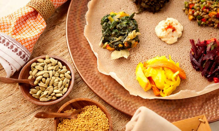 Ashee Ethiopian Cuisine - Cary: Ethiopian Food for Two or Four at Ashee Ethiopian Cuisine (Half Off)