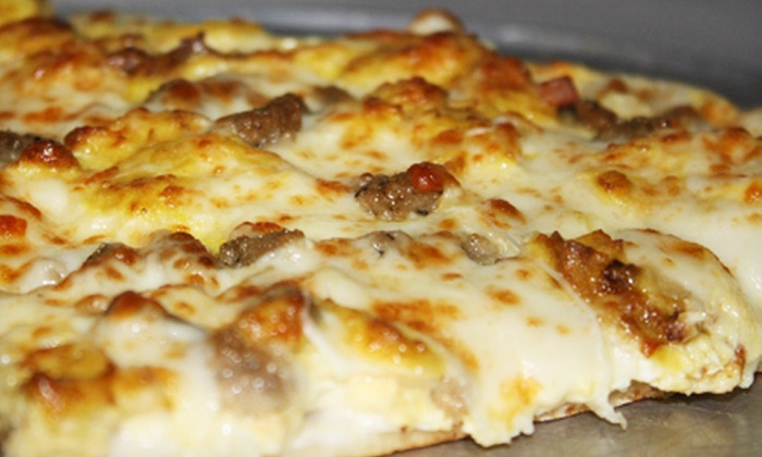 So Italian - Brownsburg: Pizza and Drinks for Two or Four at So Italian (Up to 54% Off). Four Options Available.